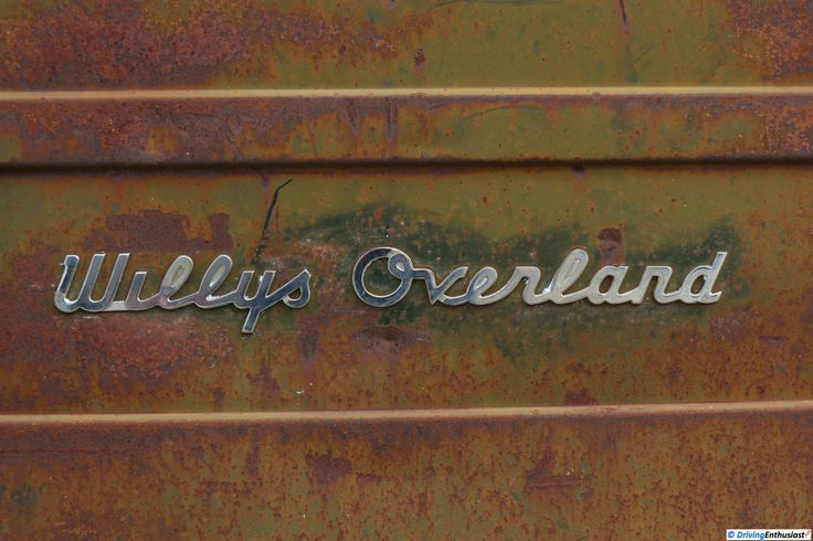 Willys Overland. As shown at the February 2015 Leander Car Show in Leander TX USA.