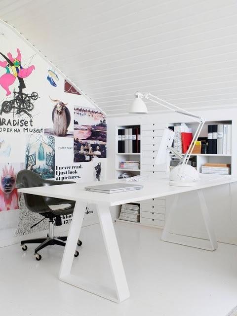 Querido Refúgio, Blog de decoração e organização com loja virtual: Ideias com Cavaletes no escritório ou atelier