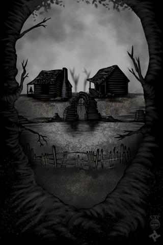 Solitude Art By CROOKEDxPATH   robs art   Skull art, Skull ...