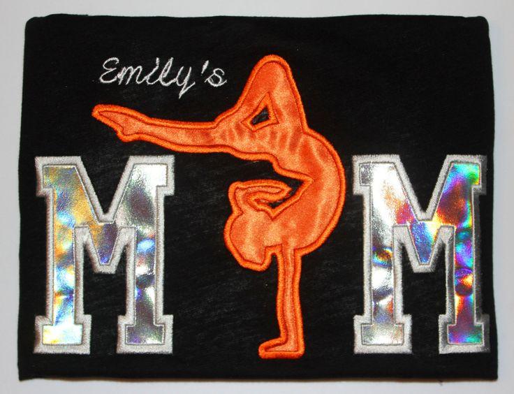 Gymnastics Mom Gymnastics Mom Shirt by SimplyCharmedDesigns, $28.00