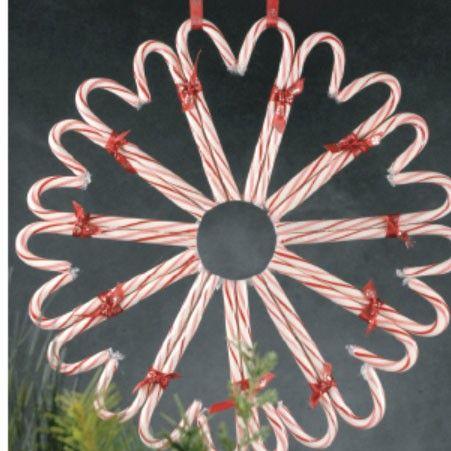 DIY:  Candy Cane Wreath Tutorial.