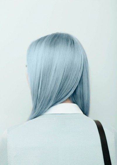 . I don't see it as blue, it just is...gray blue