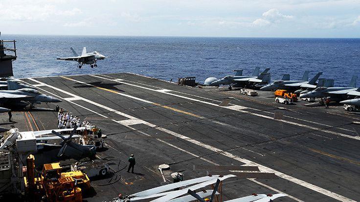 ICYMI: Un portaviones de EE.UU. vigilado por China llegará este mes a Corea del Sur