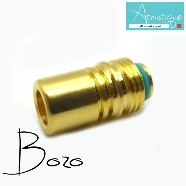 Bozo BilletBox hybrid driptip also in gold plated finish https://www.atmistique.gr/drip-tip-bozo-ss-gold.html