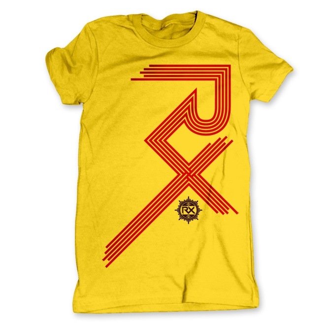 RX Bandits tee by Donny Phillips