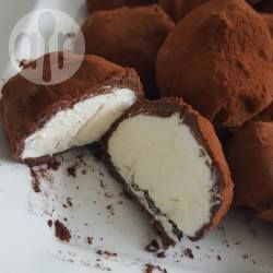 Seline's slagroom truffels @ allrecipes.nl