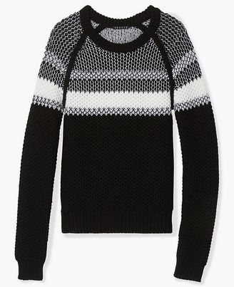 Larus Sweater in Canon - Shop for women's Sweater - BLACK/IVORY Sweater
