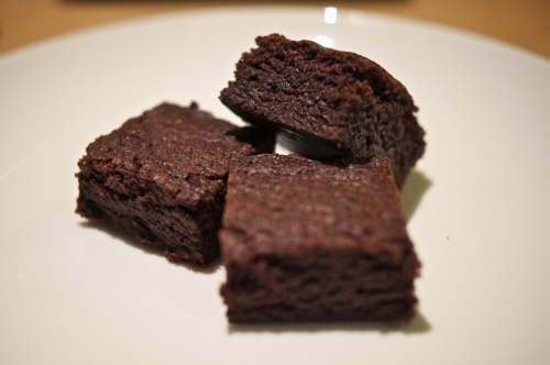 For a picnic. They are my favourite brownie recipe and very chewy. mmmm…