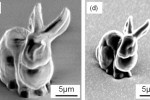 Scientists in Japan recently used a promising new 3D printing material to create objects so small that they are the size as a single bacteria. The researchers were able print shapes that are measured in mere micrometers, including the world's tiniest rabbit. While the demonstration may be playful, the application certainly isn't – this new technology may someday be used to print cells and micro-electrodes for medical purposes.
