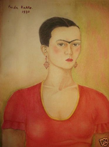 Frida Kahlo 1930 self