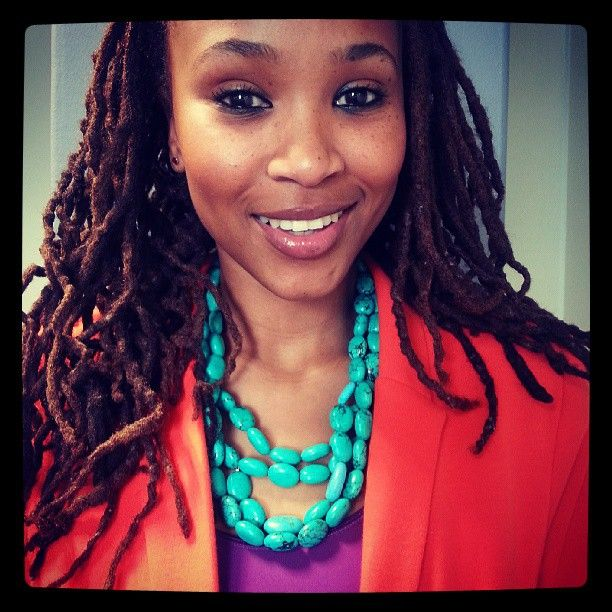 Professional Locs   Claire Mawisa. South African former, television and radio personality.
