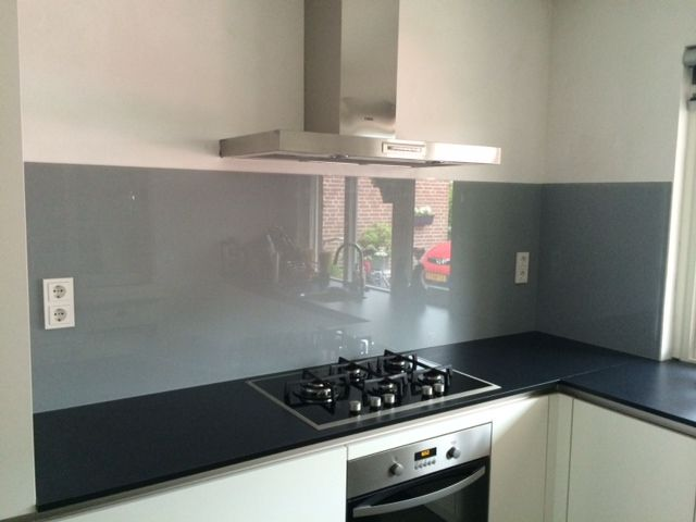 Glazen achterwand keuken keuken kitchen kitchen