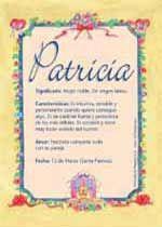 Patricia - Nombres, El significado de los nombres, Tu nombre, Tarjetas postales TuParada.com
