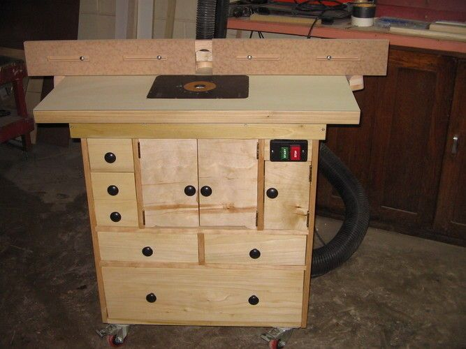 New Router Table By Billp Lumberjocks Com