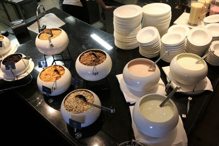 Breakfast buffet at Sheraton Stockholm Hotel
