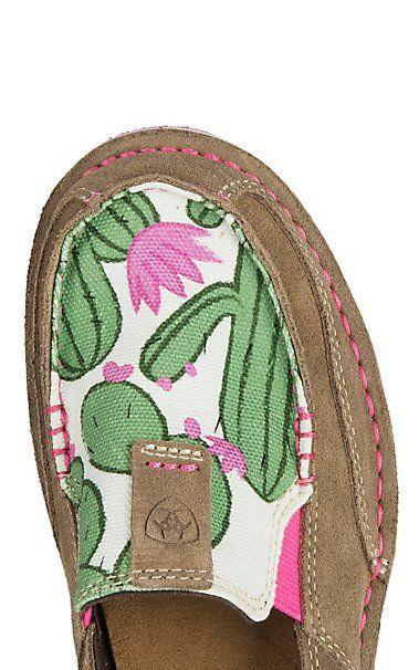 Ariat Women's Cruiser Cactus Print Casual Shoe | Cavender's