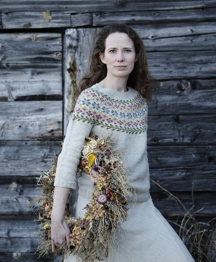 One big bonus of a fiber festival is the chance to see how a popular sweater looks on real people.