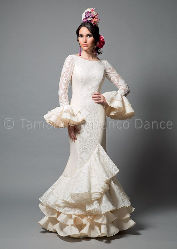 29 best images about trajes de sevillana on pinterest for Flamenco style wedding dress