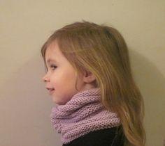 Tuto tour de cou enfant – je tricote quand j ai le temps