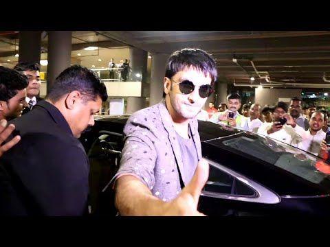 BAJIRAO Ranveer Singh returns home from Dubai.