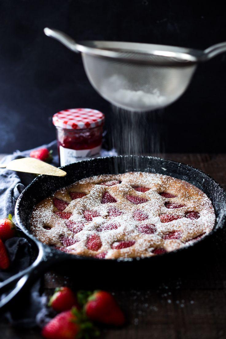 Erdbeer-Frühstückstorte
