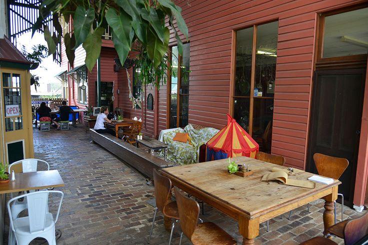 Outside Area Cafe on Cusack Jimboomba
