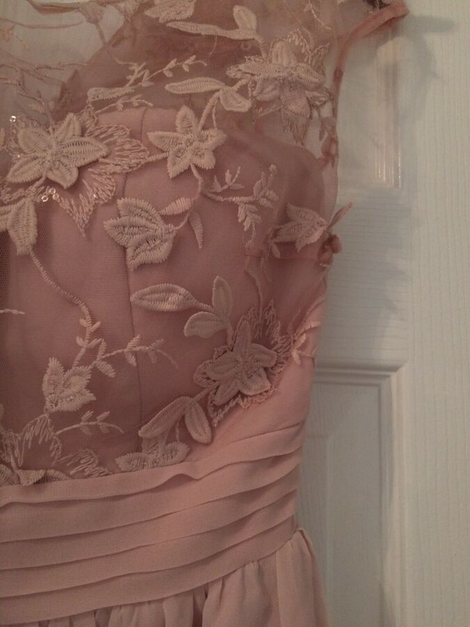 NEW GREEN FLORAL STUNNING COCKTAIL EVENING PARTY PROM DRESS SIZE 8 BNWT