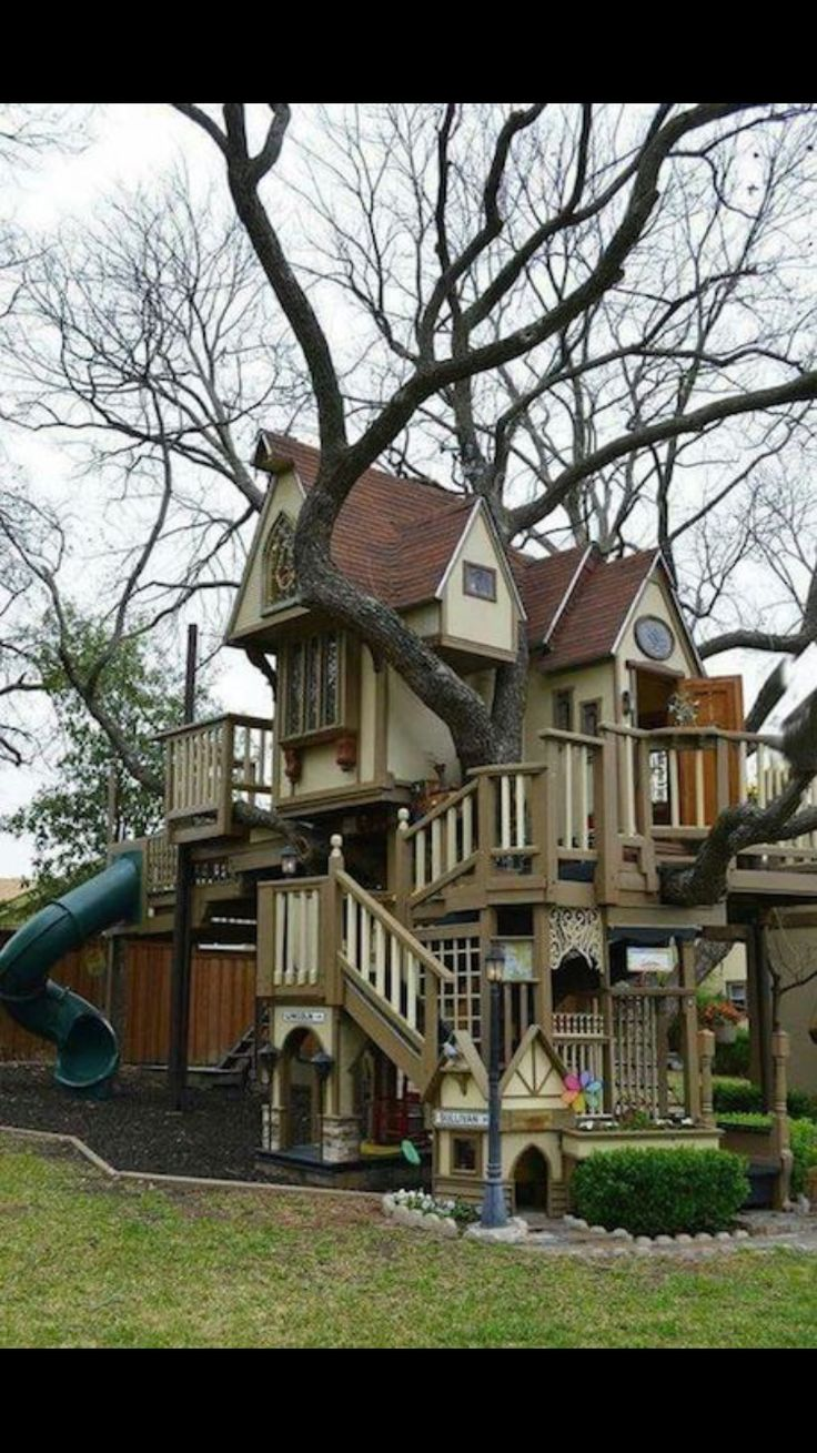 Epic treehouse!