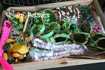 Hehehe If i had that bucket, Every single one of those would be on me :3 Plus the one's i have on all the time XD