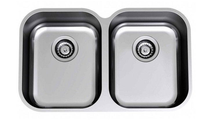 Clark Riva Double Bowl Undermount Sink