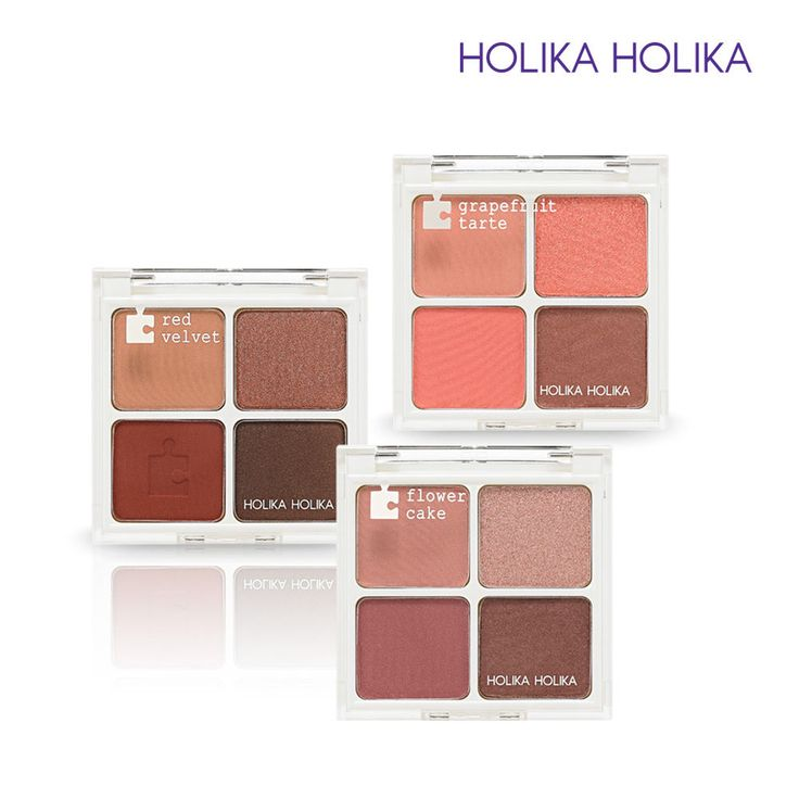 [Holika Holika] Piece Matching Shadow Palette 4 Colors / Korean Cosmetic #HolikaHolika