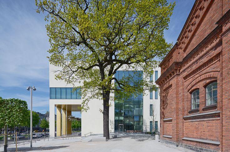 Kungliga Musikhögskolan, Stockholm. Färdig 2016. Fotograf: Åke E:son Lindman