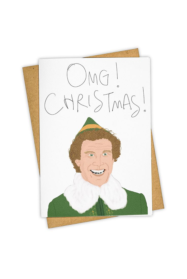 Christmas is back soon! Send christmas wishes with this beautiful card!  Buy TAY HAM - Single Card - OMG Christmas by TAY HAM from NoteMaker.com.au & receive FREE shipping on Aust orders over $99 & I/N orders over $199