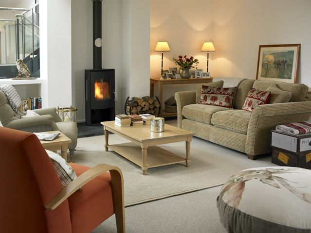 Lodge Style Bedroom Furniture: Featuring The Hamish Sofa, This Cosy Room Is A Gorgeous