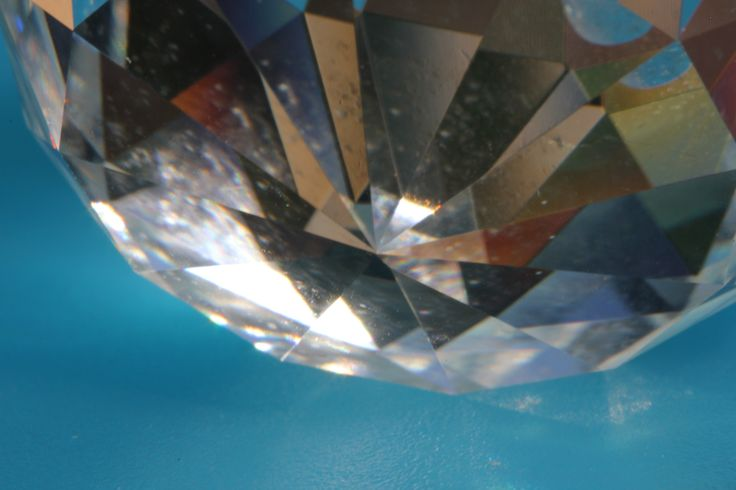 Facets of a glass crystal