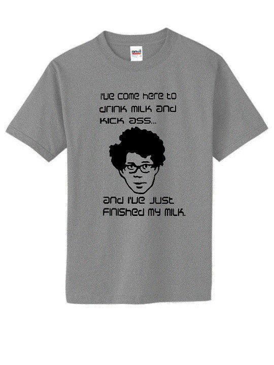T Ass Shirt Kicks Unisexmen's The tCrowd Moss I Drinks Milk And GUpqzMVS