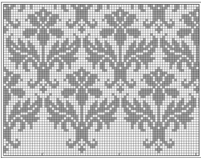 101115 - Схемы жаккардов спицами