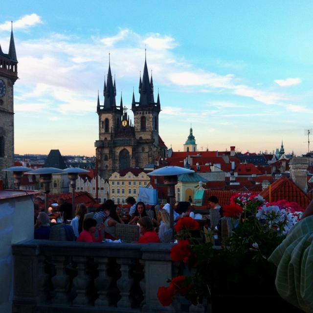 Rooftop dining in Prague Rooftops Dining, Gustaría Ir