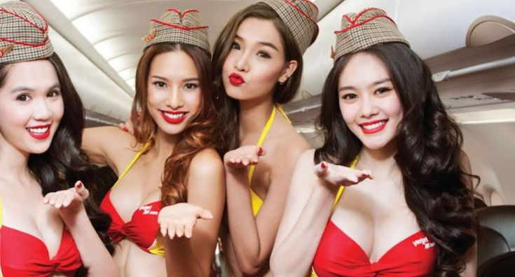 COME FLY WITH US: Riding the sexiest airline in the world