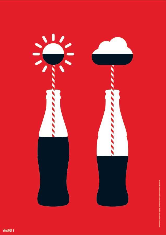 Designers Reimagine Classic Coke Bottle Artwork