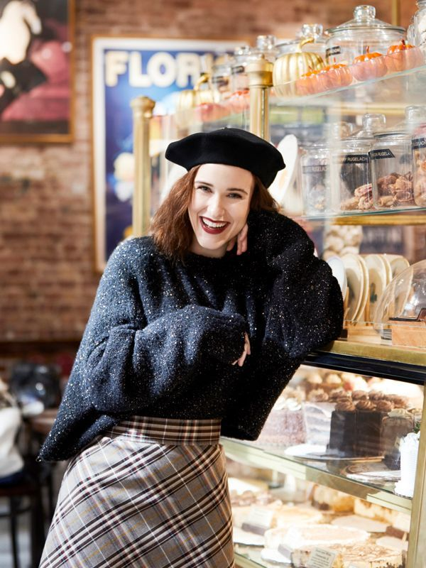 My New York: Actress Rachel Brosnahan Gives Us Insider Access to the Big Apple via @MyDomaine