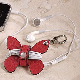 Pocquettes™ Butterfly Earbud Holder