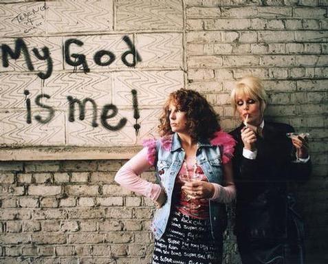 My God is me! hahahaha. Pats...Edie...Pats....Edie....