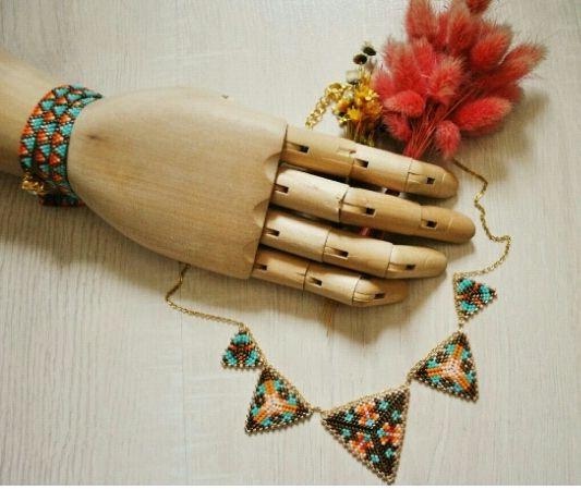 handmade miyuki necklace. to more information instagram: san_art_jewelry