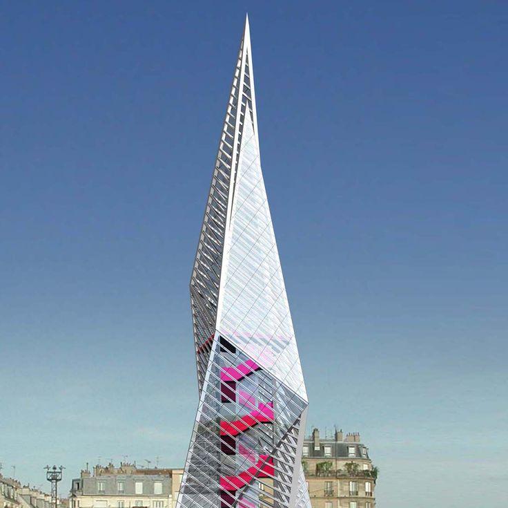 zero by Nikolaidis - Protestou architects  http://www.panos-nikolaidis.com/zero/  #architecture #landmark #highrise #tower