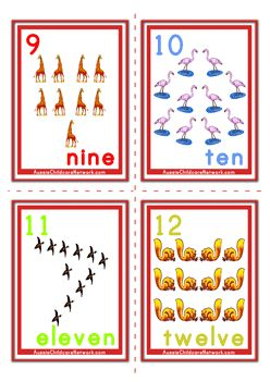 It's just an image of Remarkable Number Flash Cards Printable 1 20