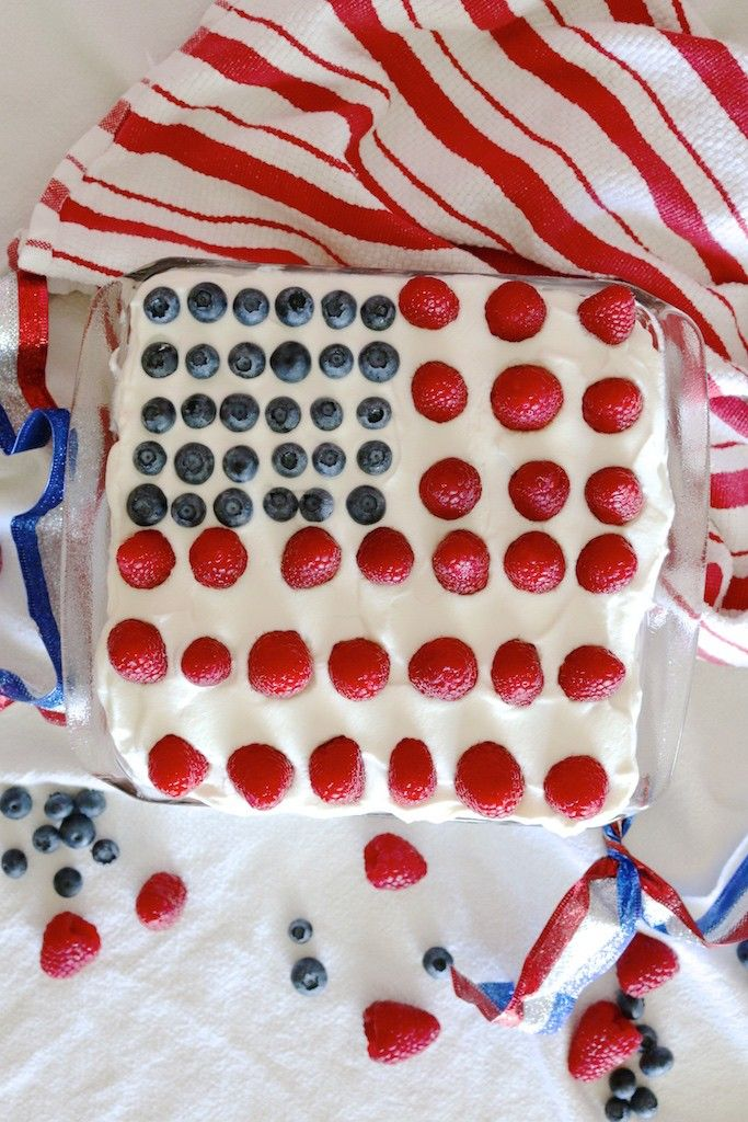 lexi's clean kitchen 4th of july cake
