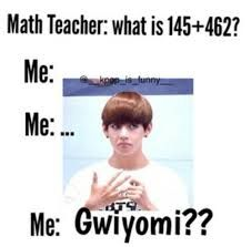 Hahaha same TaeTae..  wish Gwiyomi would count as an answer