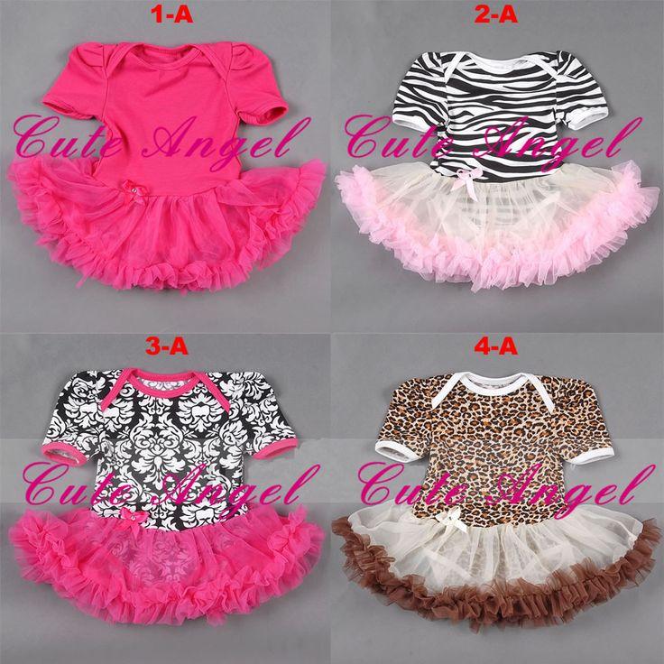 EMS/DHL Free Shipping Cute angel bodysuit  puff skirt damask zebra leopard animal print pettiskirt tutu party dress
