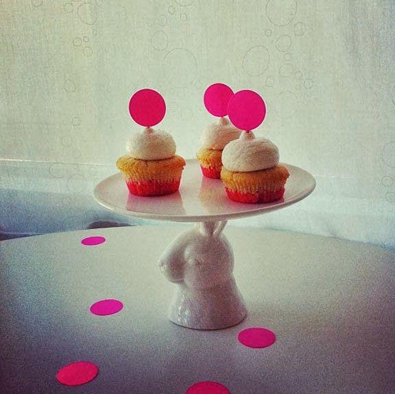 dip dye cupcakes #poppytalk @Jan of Poppytalk #cococakeland